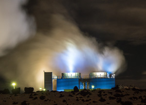 Iceland Geothermal Power Station